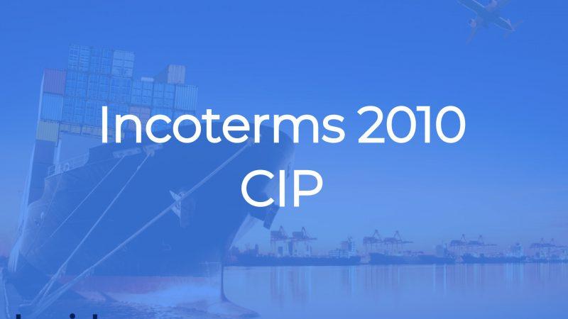 CIP Incoterms