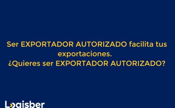 Exportador autorizado