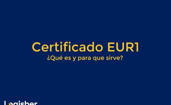 Certificado EUR1