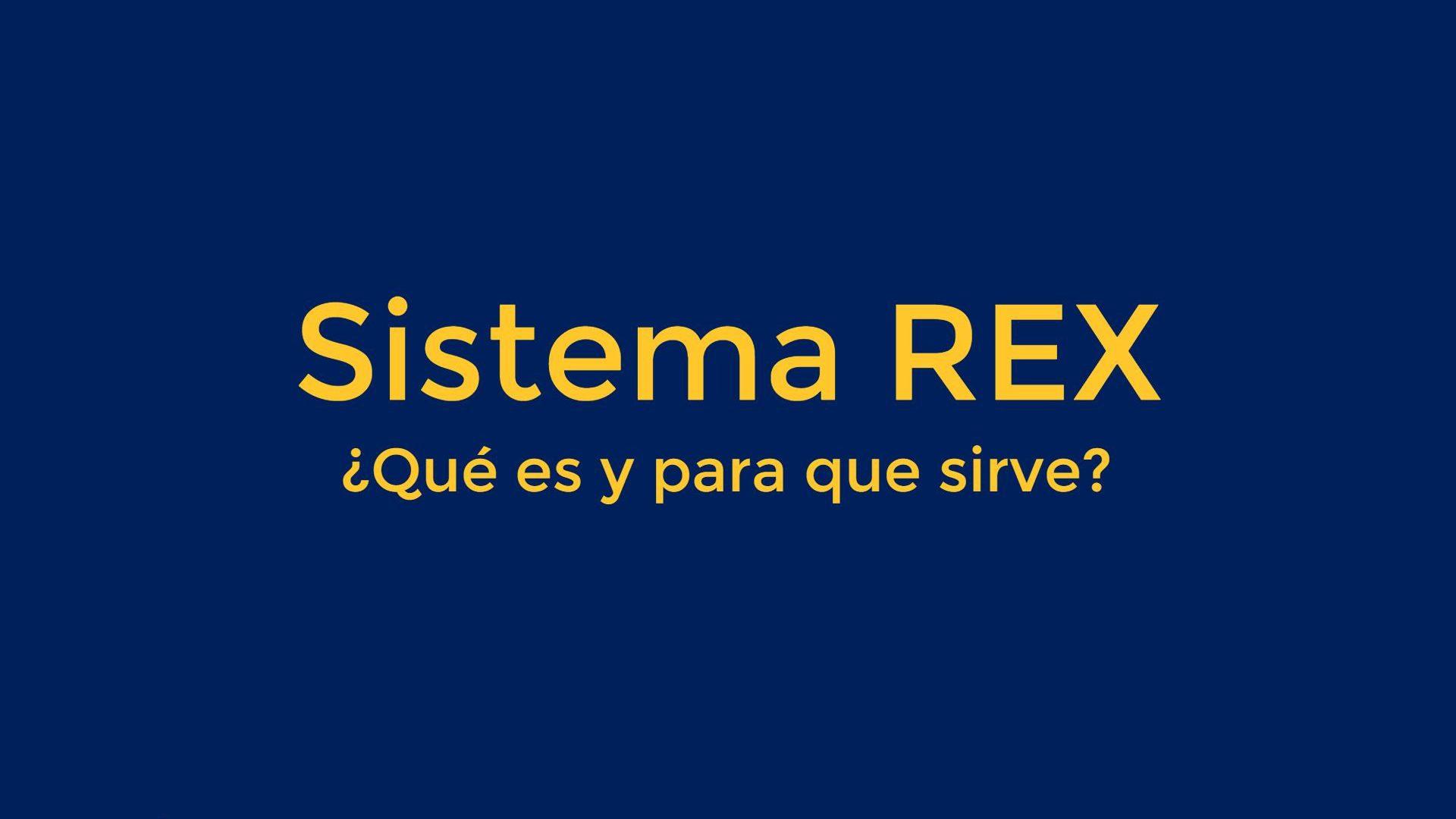 Sistema Rex