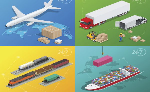 Transporte internacional multimodal