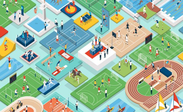Logística internacional para eventos deportivos