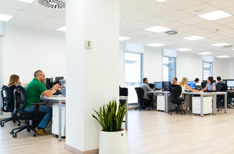 Equipo oficinas logisber