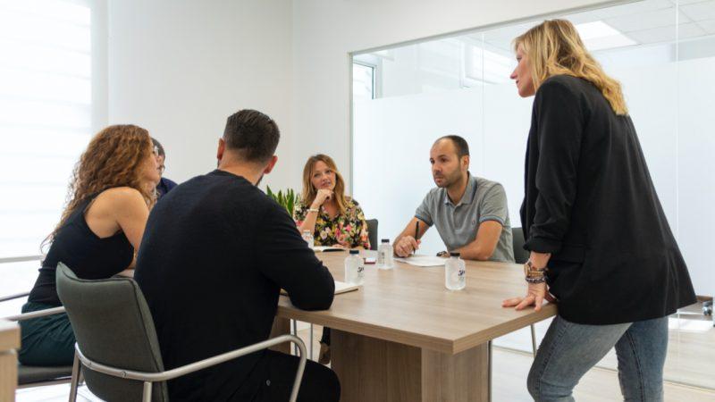 Formación equipo reunión